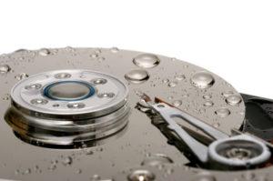 Electronic water damage repair